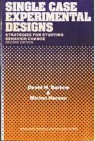 Single Case Expt design Barlow