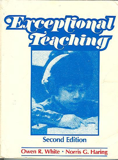 Exceptional Teaching White