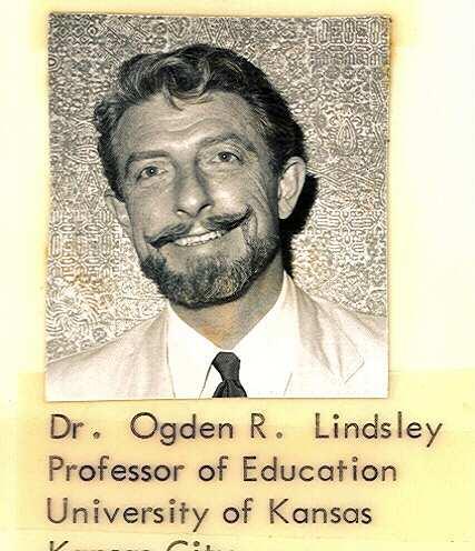 Ogden Lindsley about 1969