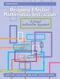 Designing Effective mathematics Stein, Kinder, et al.