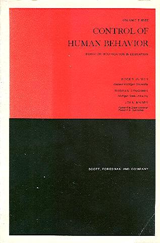 Control of Human Behavior: Ulrich